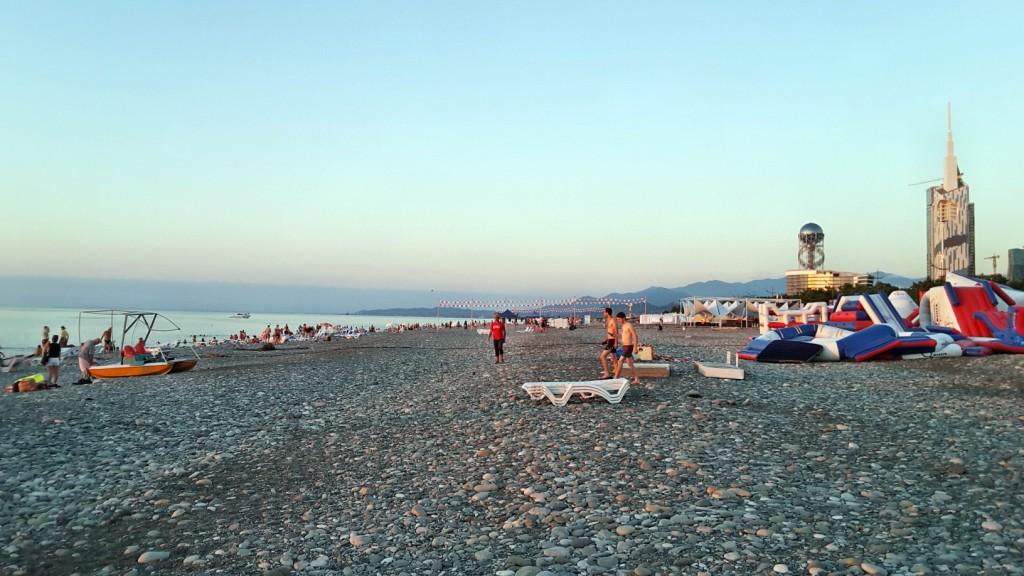 ساحل باتومی - گرجستان - تابستان 1395