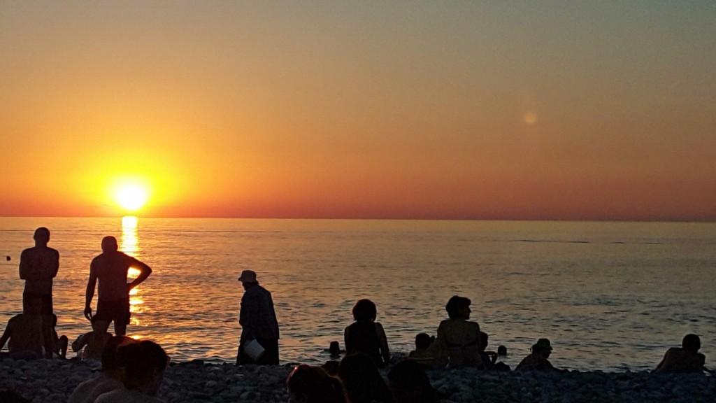 پارک ساحلی باتومی - گرجستان - تابستان 1395