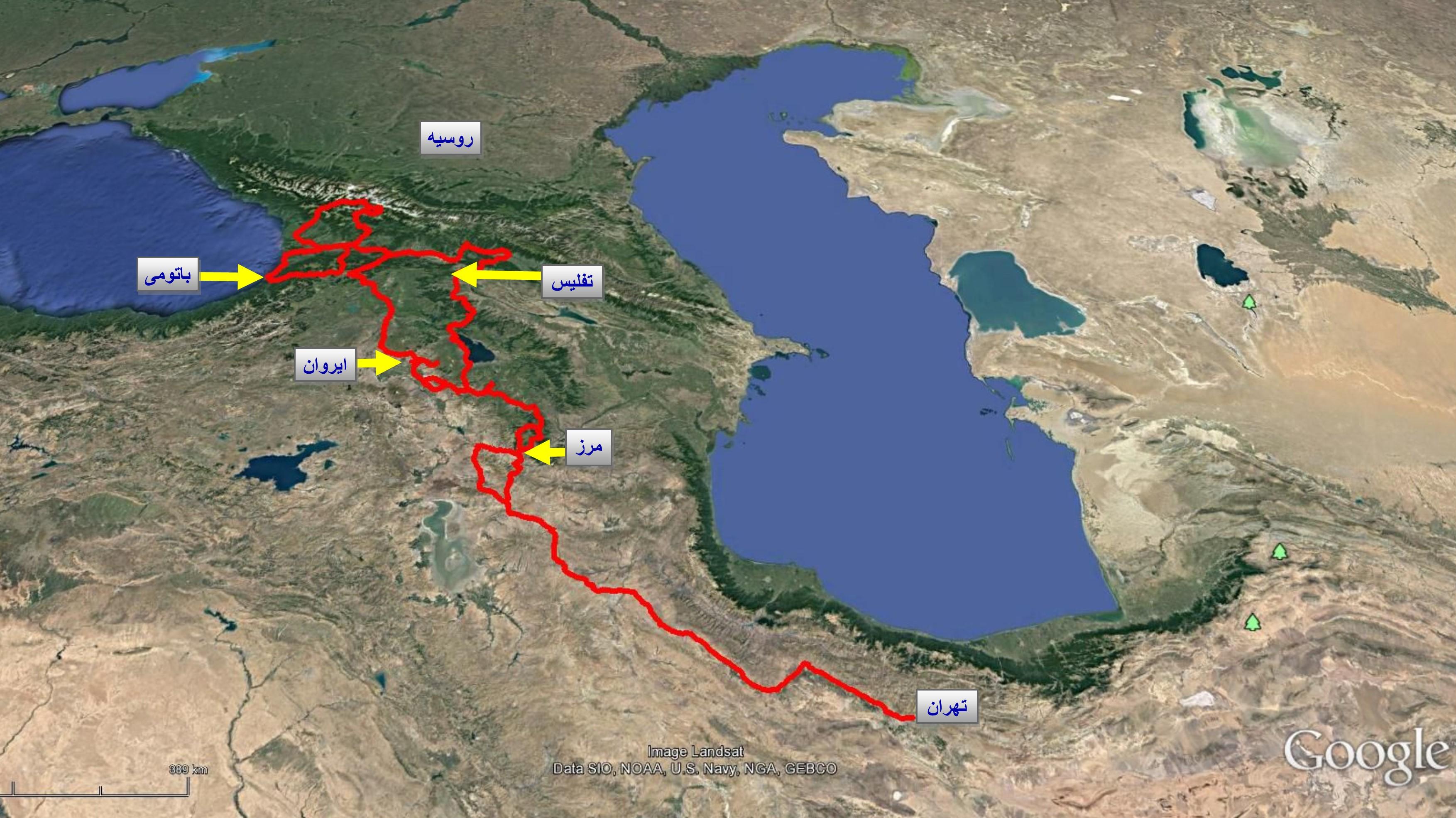 بخش پایانی سفرنامه ما به ارمنستان و گرجستان – تابستان ۱۳۹۵