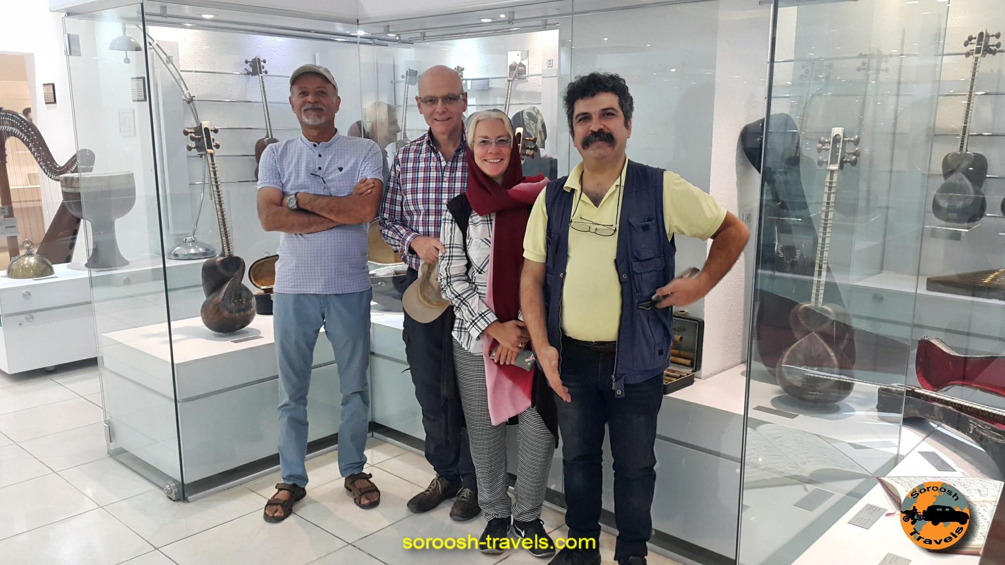 موزه موسیقی اصفهان ، مهرماه 1395