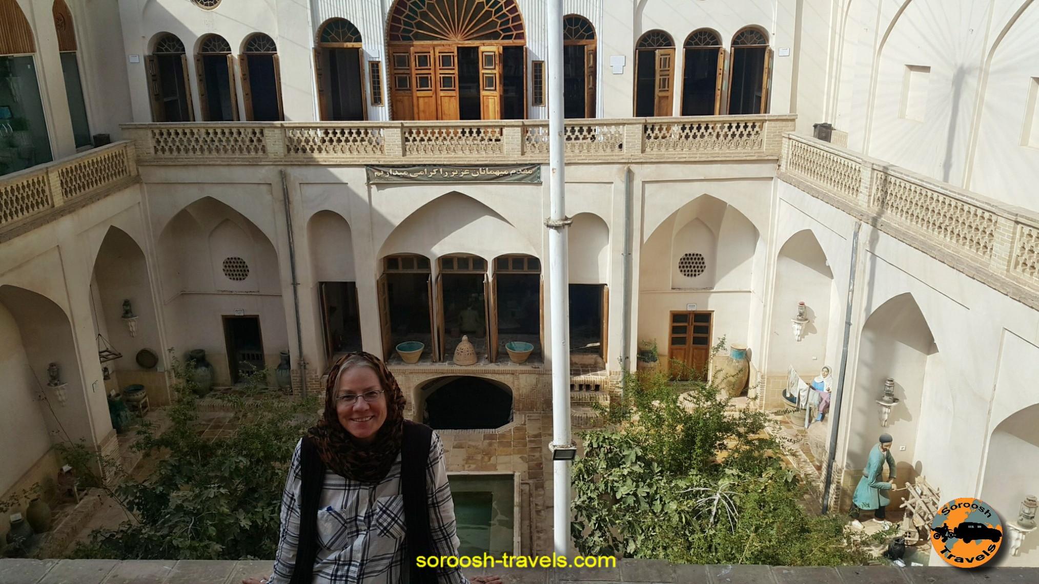 خانه های سنتی کاشان - مهرماه 1395