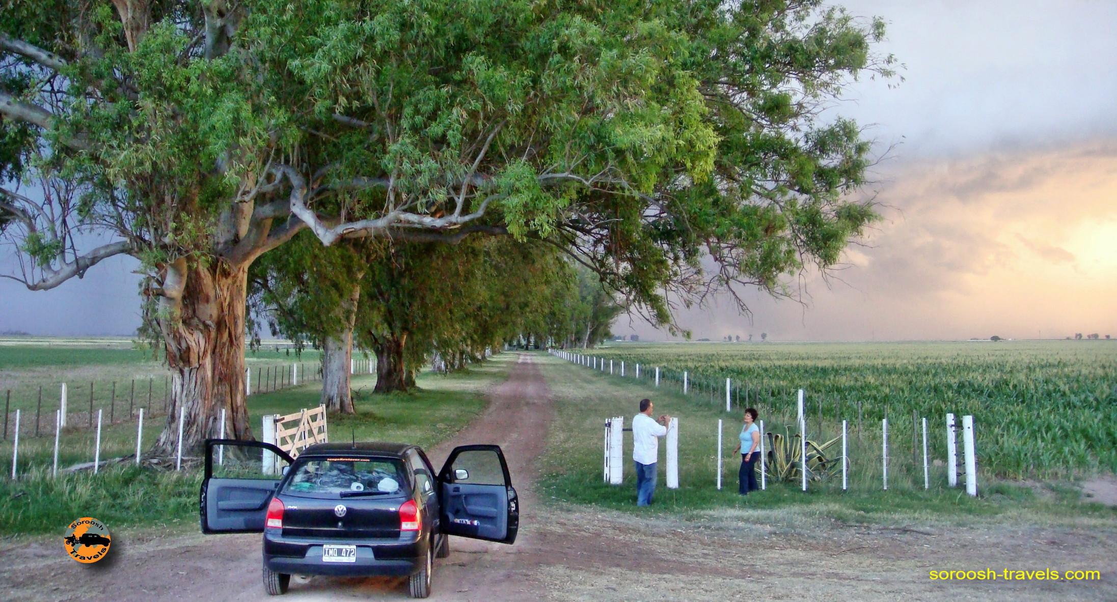 سفر به آرژانتین – از سن لوئیس بطرف مارکوس خوارز –  ۲۶ آذر ۱۳۸۹