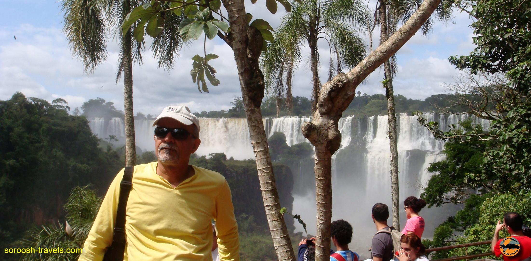 سفر به آرژانتین – مجموعه آبشارهای عظیم ایگوازو – سوم دیماه ۱۳۸۹