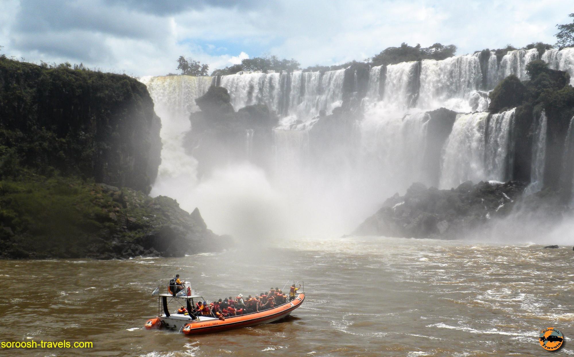 سفر به آرژانتین – آبشارهای بسیار زیبای ایگوازو – سوم دیماه ۱۳۸۹