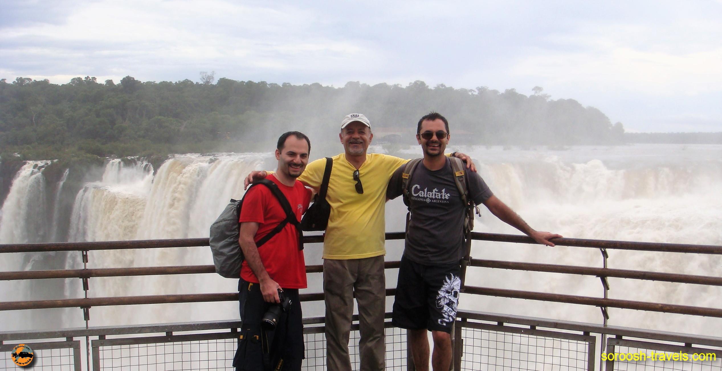 سفر به آرژانتین – آبشارهای فوق العاده زیبای ایگوازو – سوم دیماه ۱۳۸۹