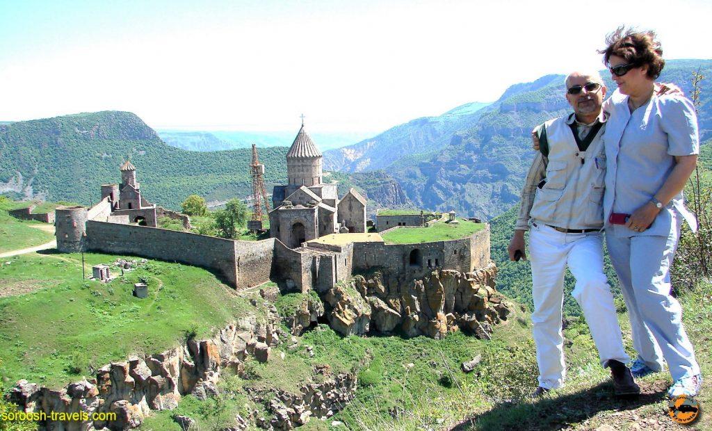 ارمنستان با اتوموبیل : تاتف – بهار 1387