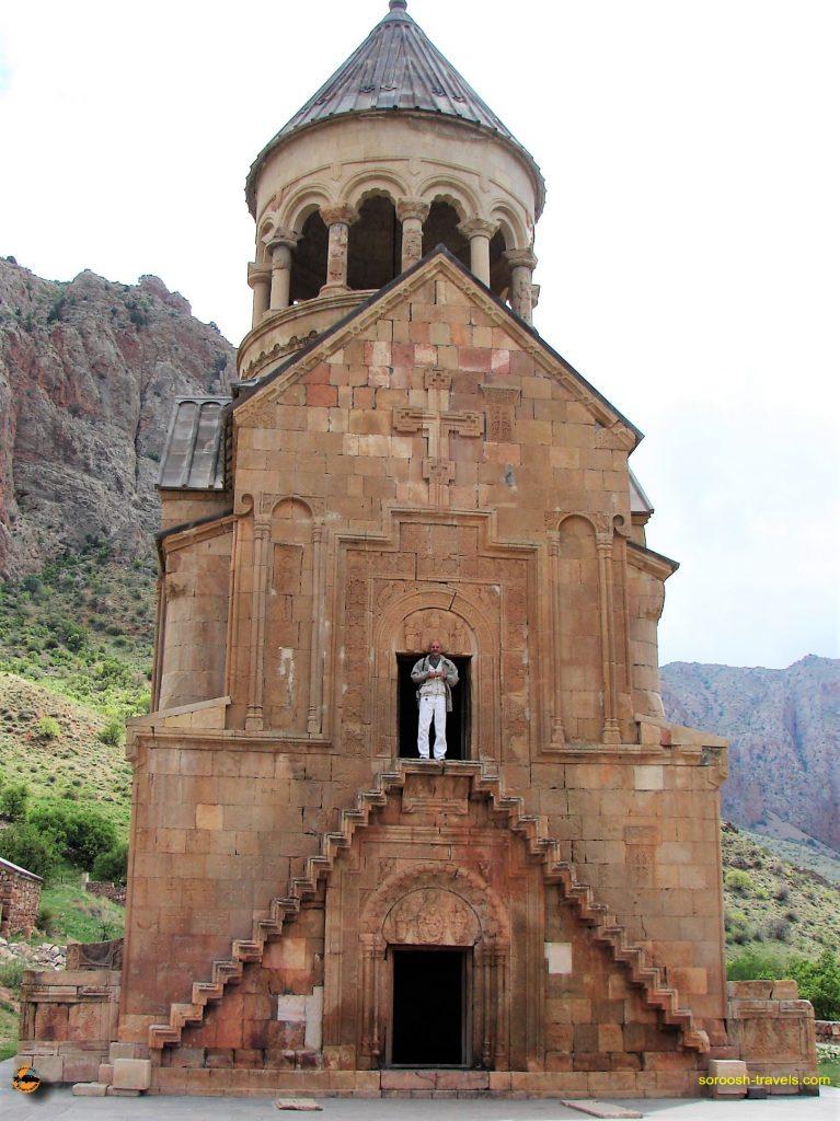 ارمنستان با اتوموبیل : مگری ، گوریس ، نوراوانک – بهار ۱۳۸۷