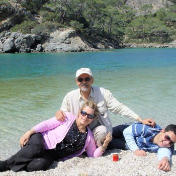 ساحل الودنیز در ترکیه