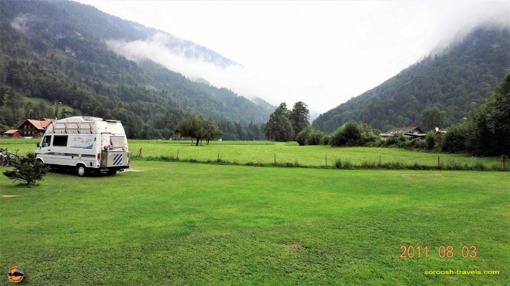 سفر به اروپا با اتوموبیل – تابستان ۱۳۹۰ – اینترلاکن ، سوئیس