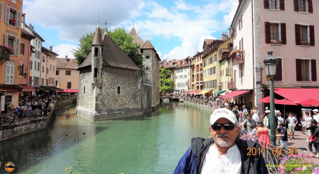 سفر به اروپا با اتوموبیل – تابستان ۱۳۹۰ – شهر انسی ، فرانسه