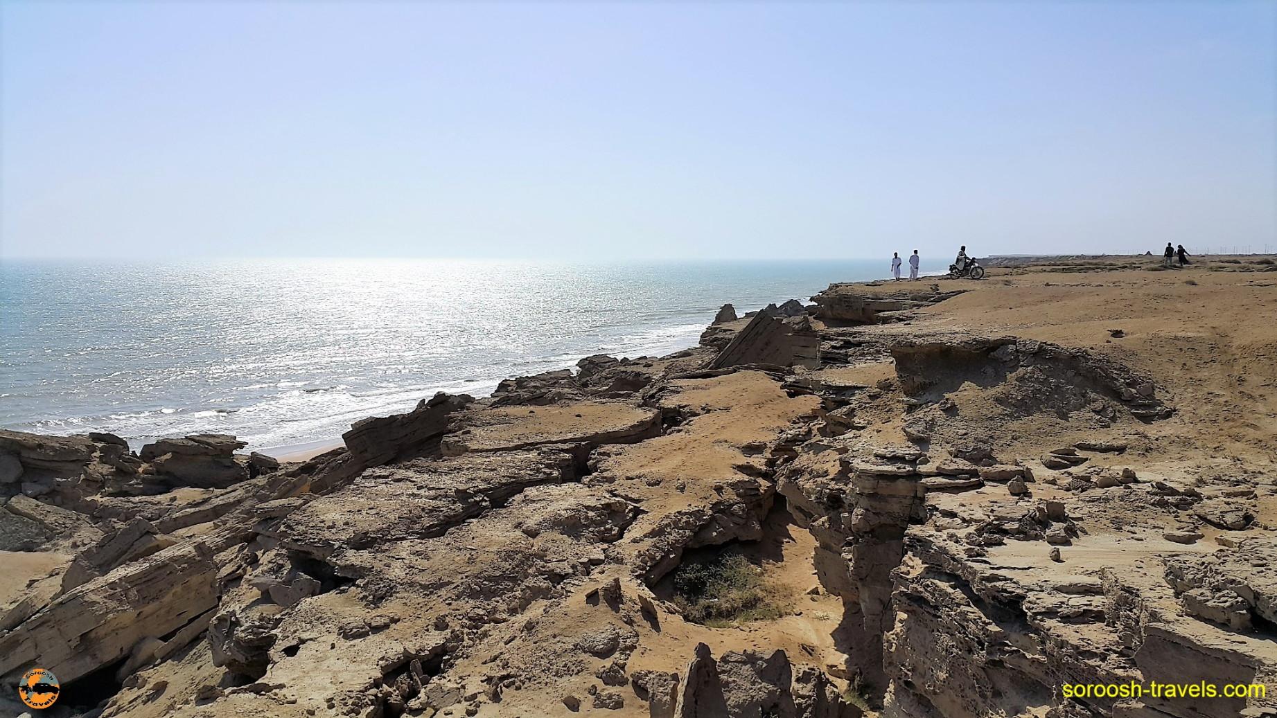 سواحل دریای عمان ، دورترین نقطه جنوب شرقی ایران - نوروز ۱۳۹۶