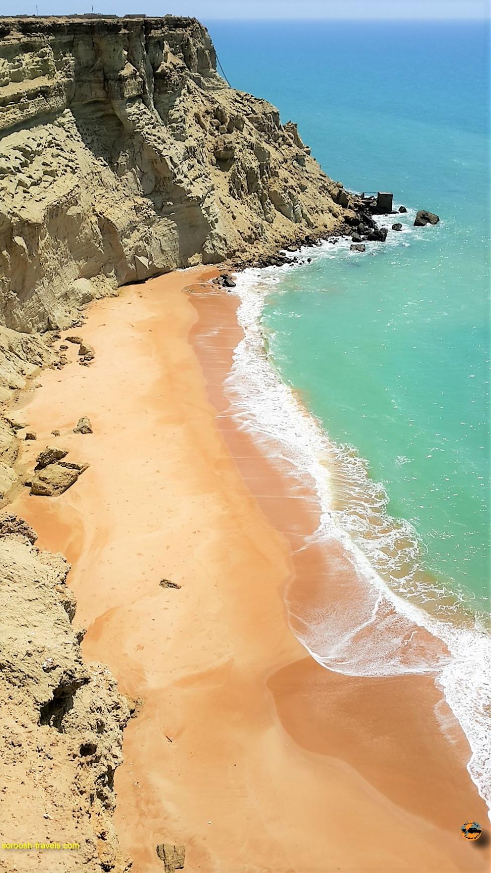 کناره های دریای چابهار - نوروز ۱۳۹۶