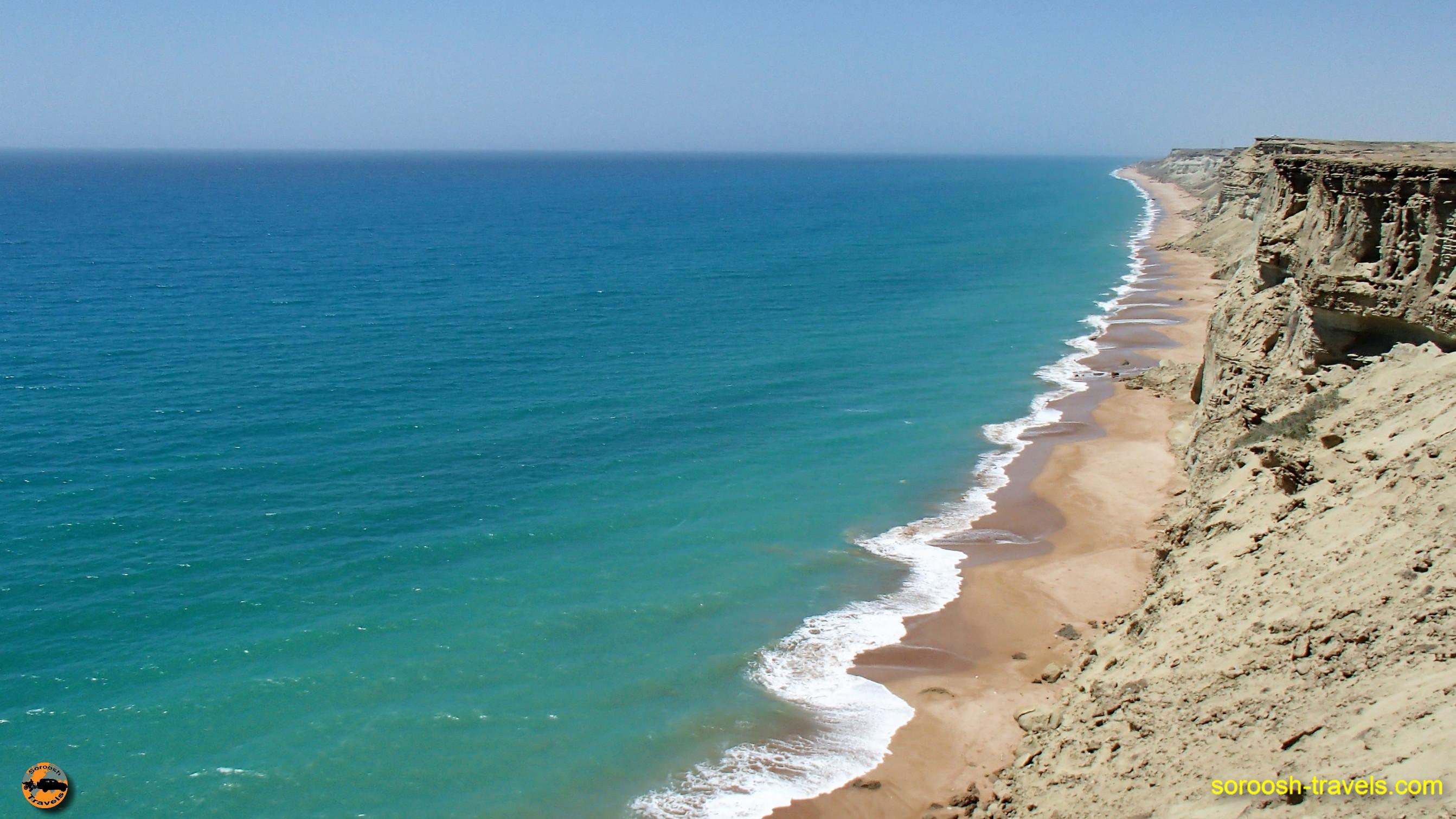 سواحل اطراف چابهار - نوروز ۱۳۹۶