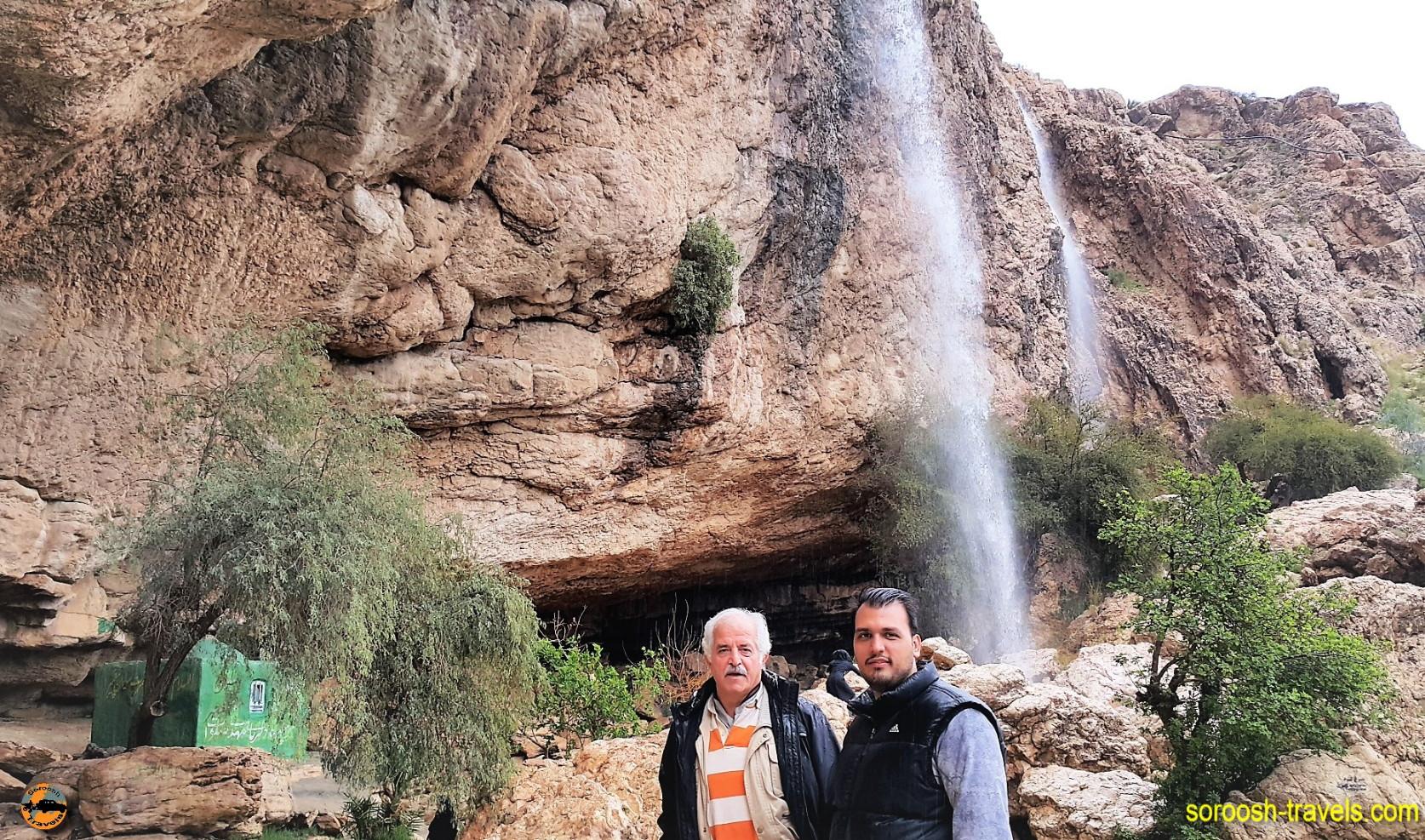 آبشار روستای دوساری - نوروز ۱۳۹۶