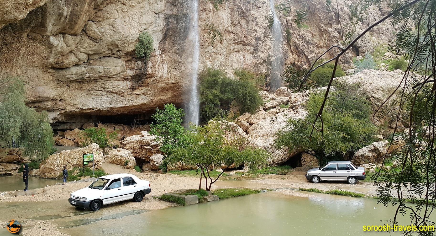 آبشار دوساری از آبشارهای زیبای ایران – نوروز ۱۳۹۶