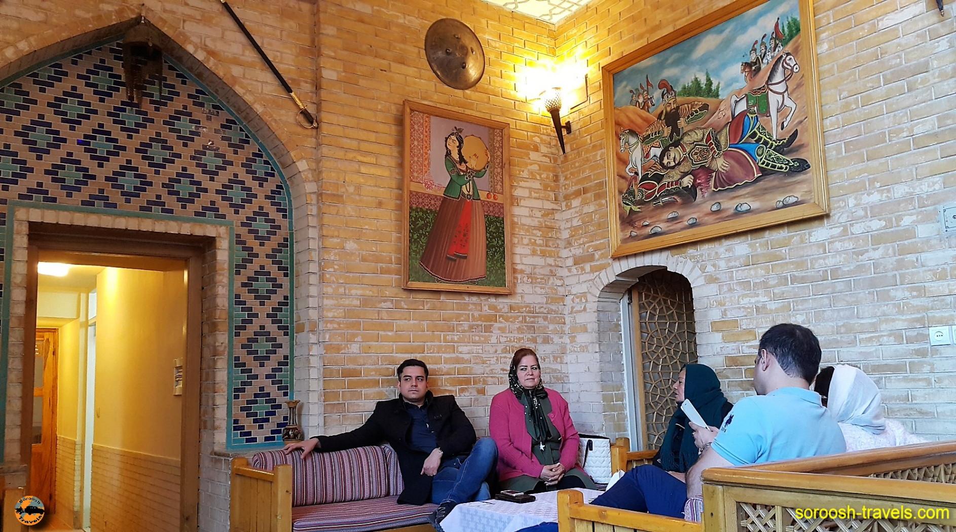 هتل عباسی اصفهان - نوروز ۱۳۹۶