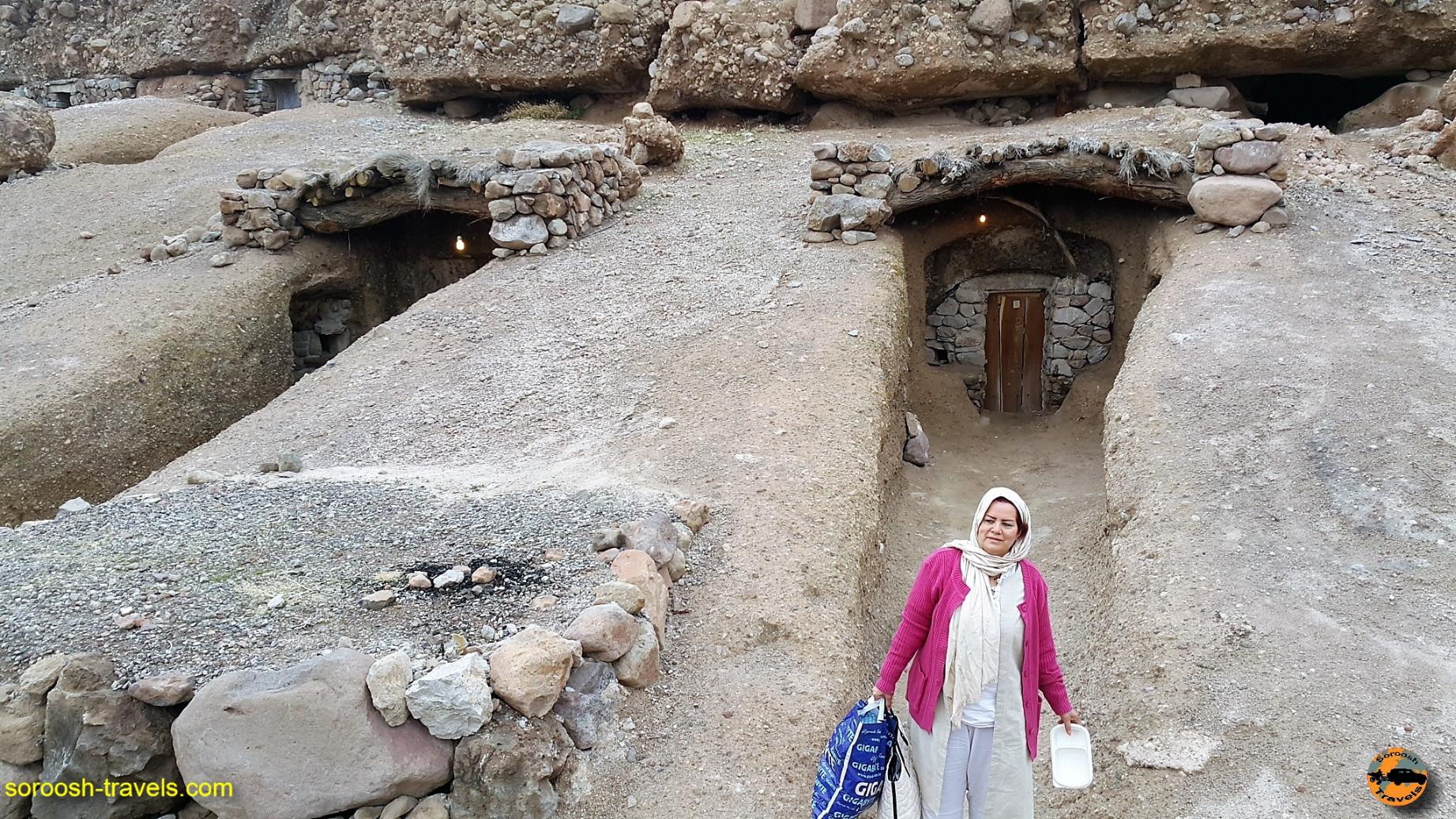 میمند ، اقامت در غار - نوروز ۱۳۹۶