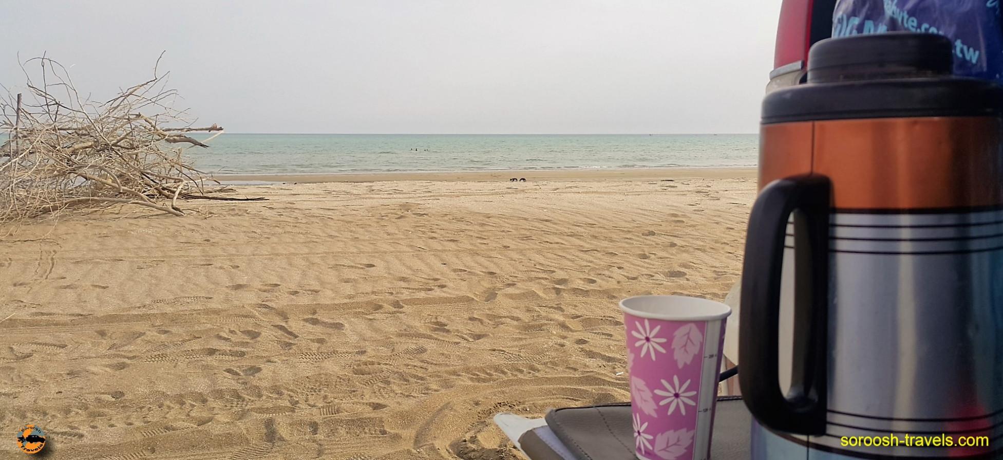 ساحل جاسک - نوروز ۱۳۹۶