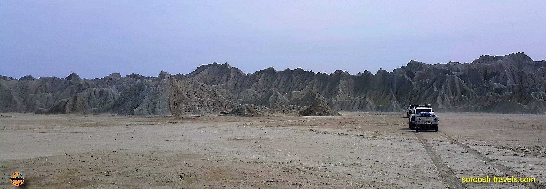 کوههای عجیب سواحل دریای عمان - نوروز ۱۳۹۶
