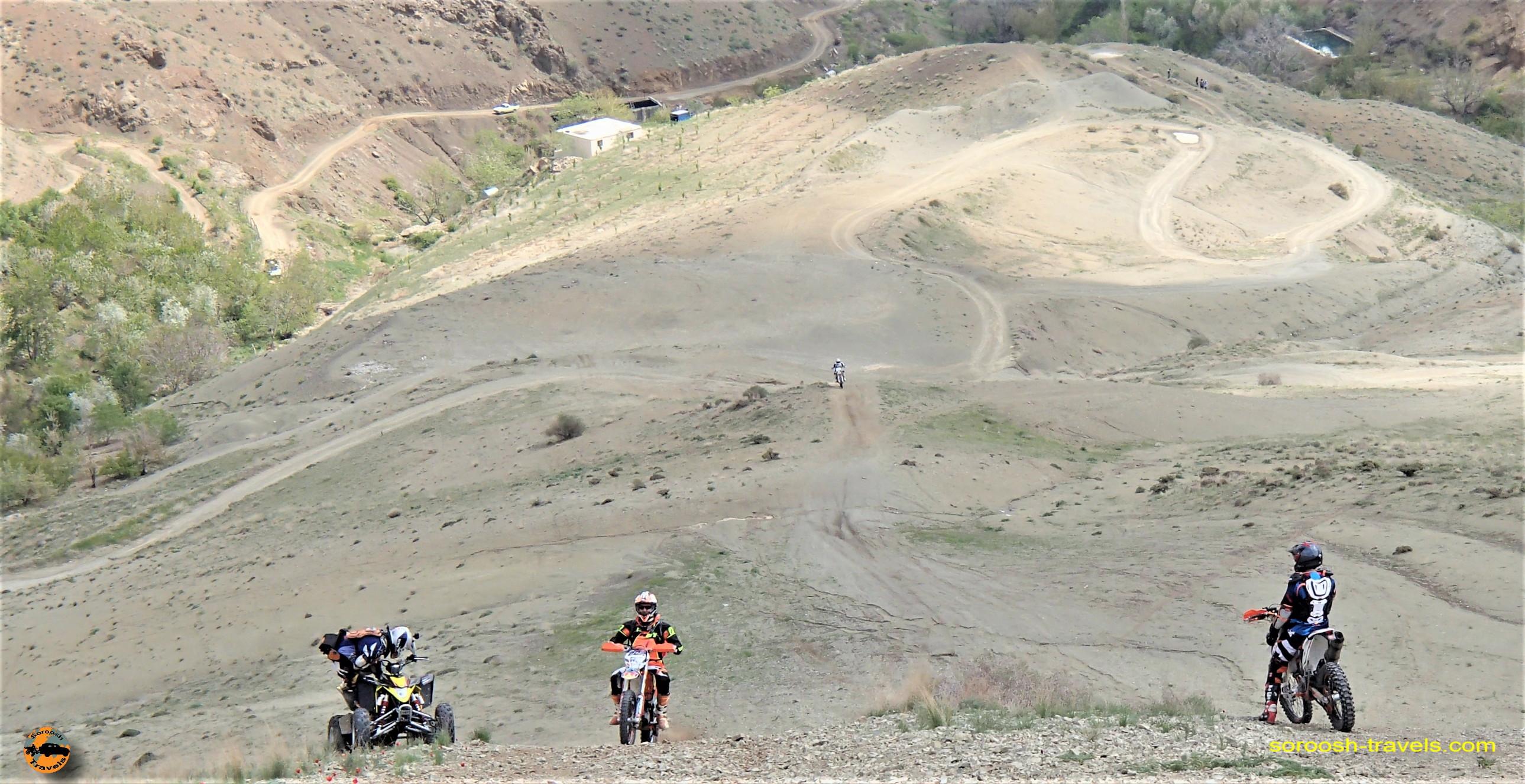 موتورسواری در ارتفاعات در وردیج