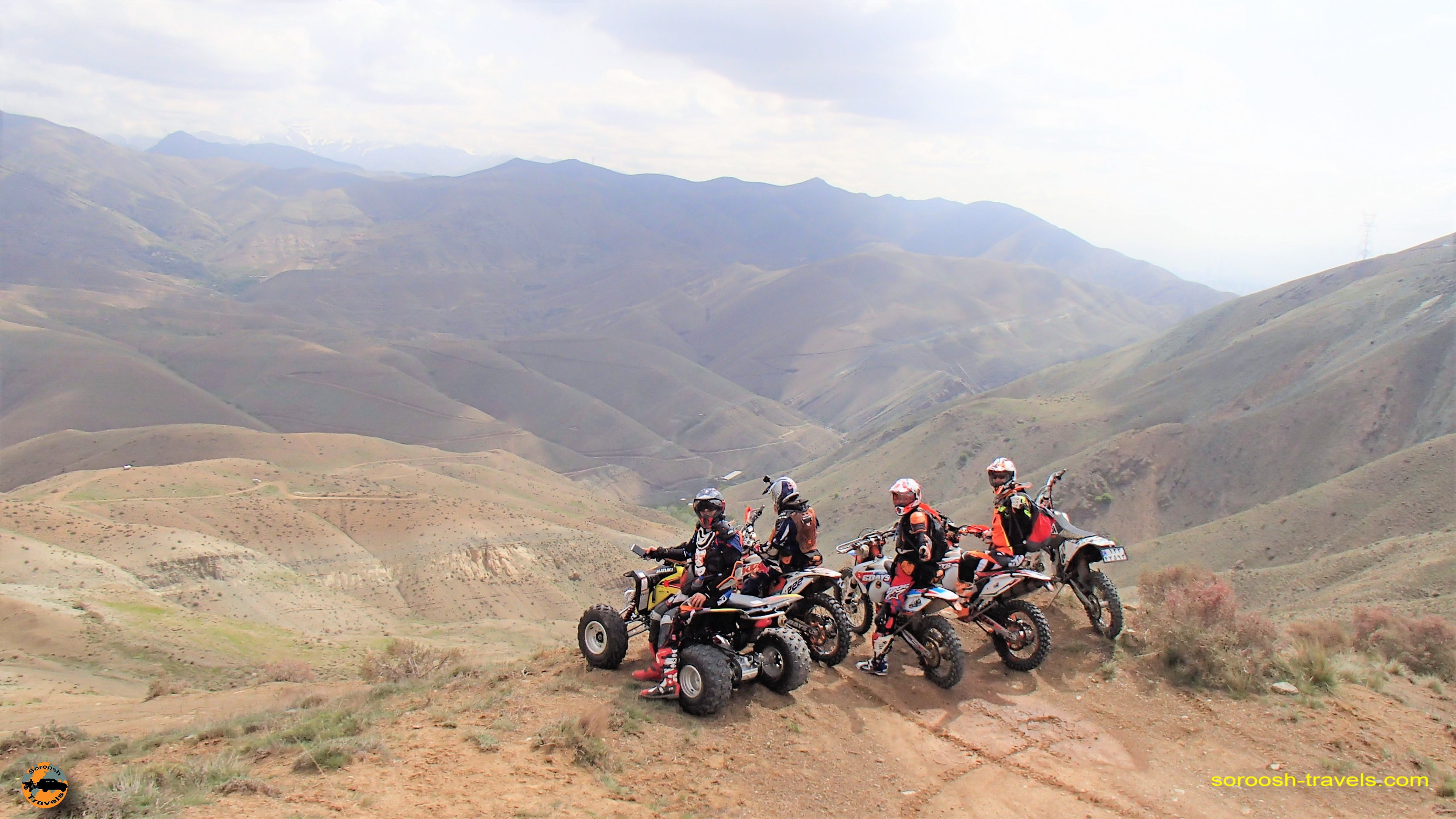 موتور سواری در هوای لذتبخش بهاری - منطقه وردیج