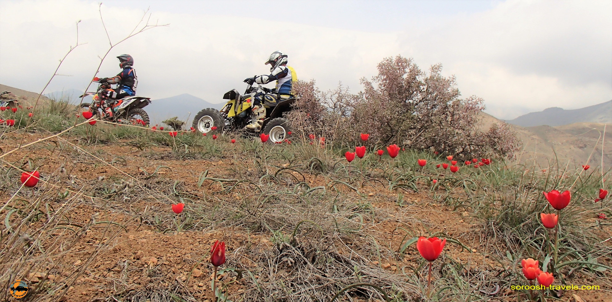 موتور سواری در هوای لذتبخش بهاری – منطقه وردیج