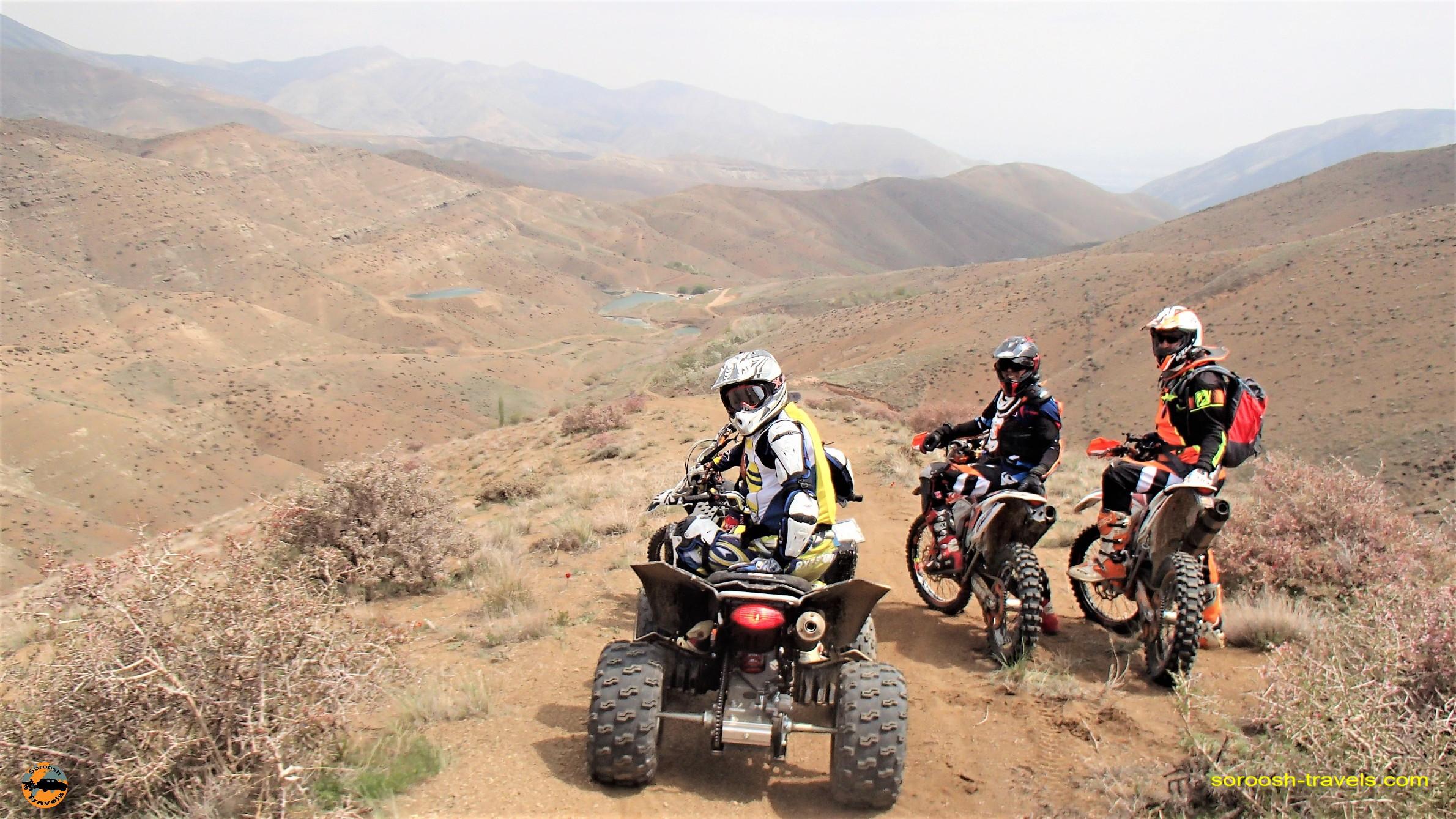 کوهنوردی با موتور در وردیج