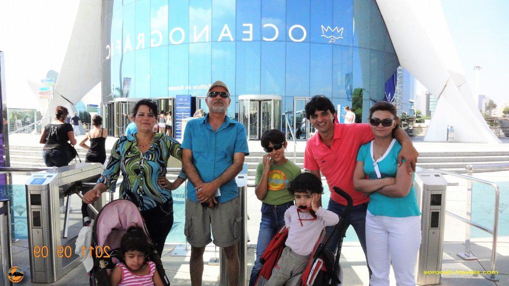 سفر به اروپا با اتوموبیل – تابستان ۱۳۹۰ – والنسیا ، اسپانیا