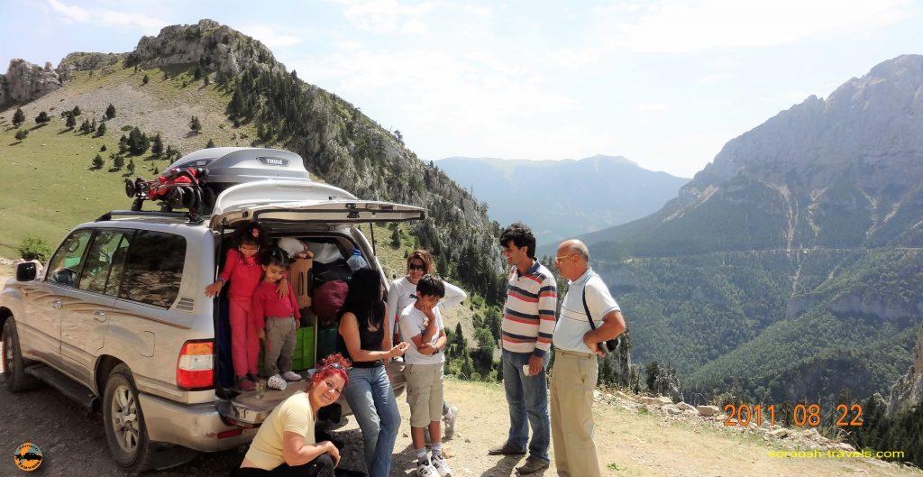 سفر به اروپا با اتوموبیل – تابستان ۱۳۹۰ – سالدس ، اسپانیا