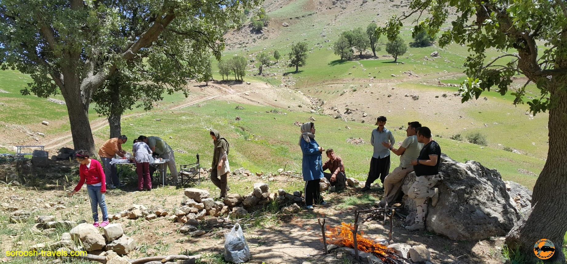 کوههای زاگرس شگفت انگیز - خرداد ۱۳۹۶