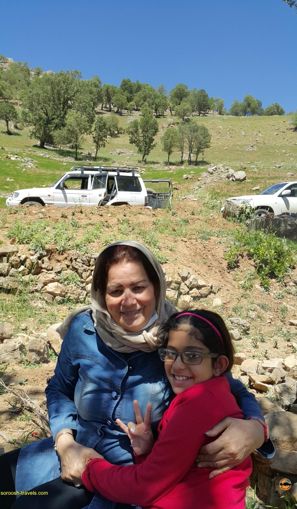 کوهستانهای زاگرس شگفت انگیز - خرداد ۱۳۹۶