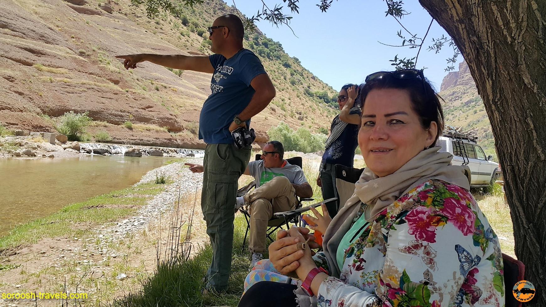 از زردکوه تا اشترانکوه - خرداد ۱۳۹۶