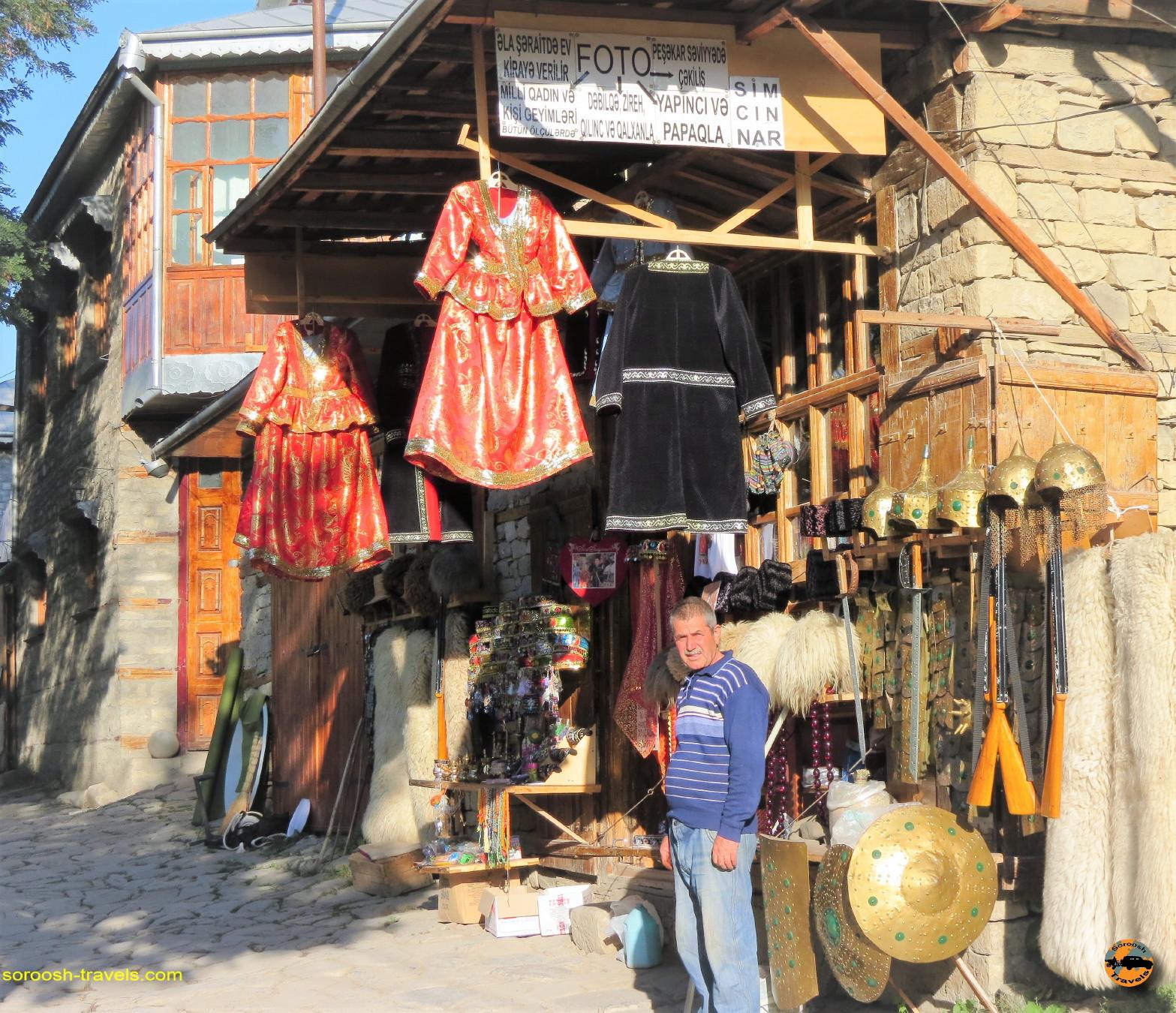 روستای تاریخی لاهیج در کشور آذربایجان - تابستان ۱۳۹۱