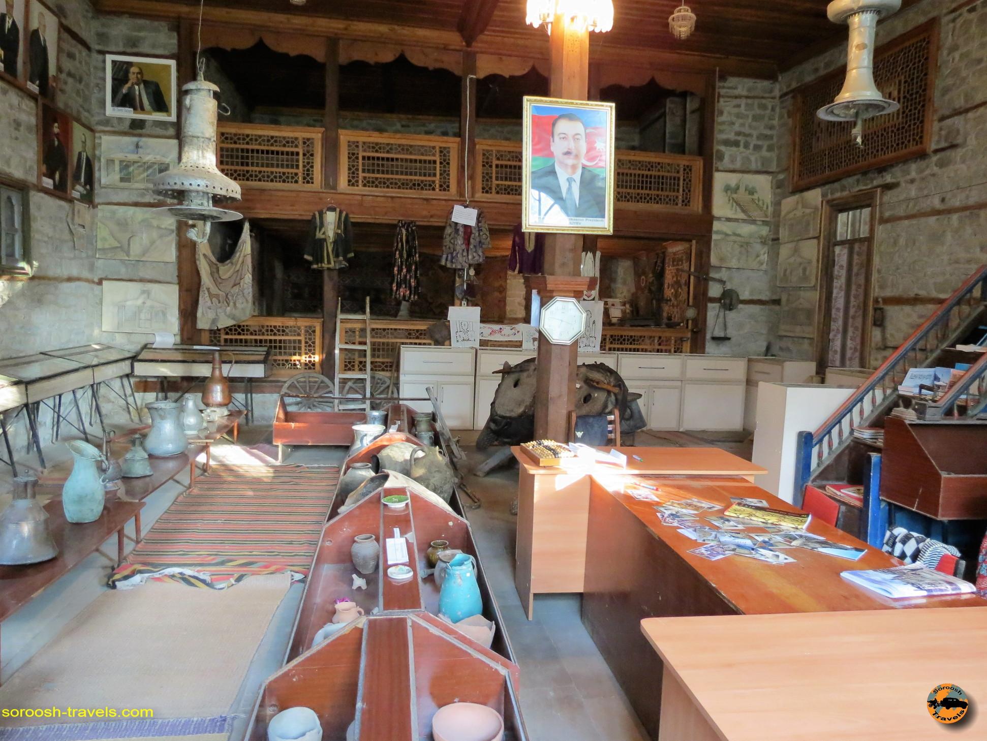 موزه لاهیج در کشور آذربایجان - تابستان ۱۳۹۱