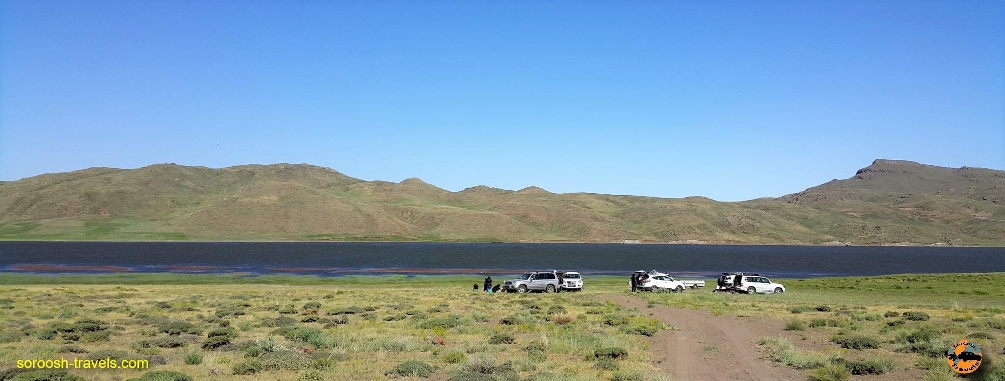 دریاچه زیبای نئور در استان اردبیل - تابستان ۱۳۹۶