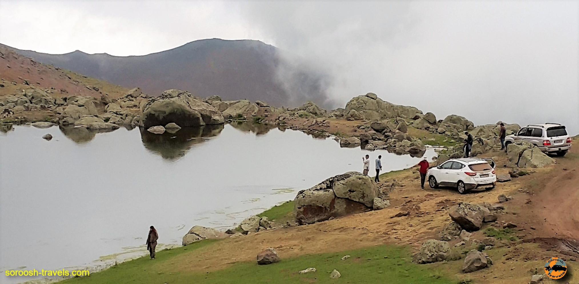 مناظر اطراف دریاچه نئور – تابستان ۱۳۹۶