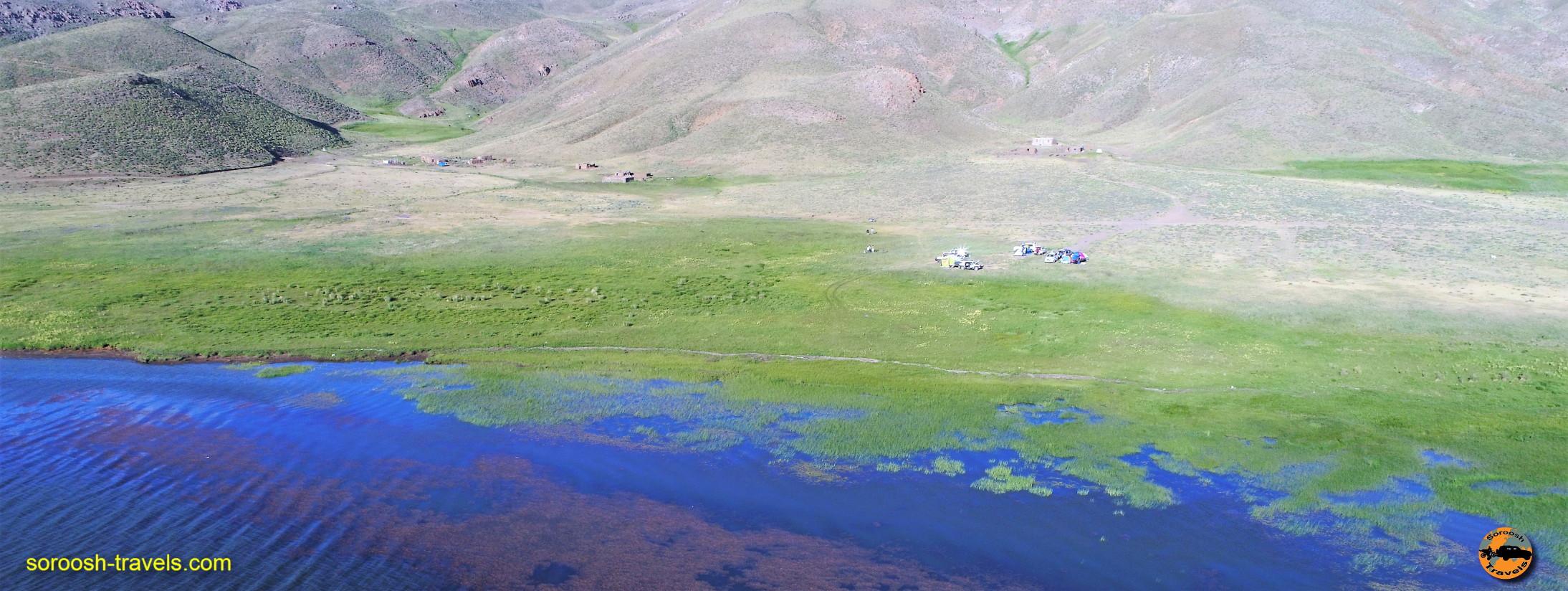 راهنمای دریاچه نئور - تابستان ۱۳۹۶