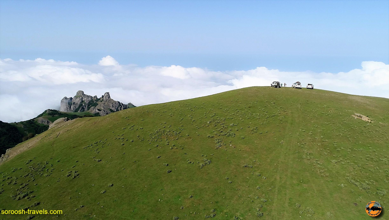 تصاویر هوایی از ارتفاعات سوها – تابستان ۱۳۹۶