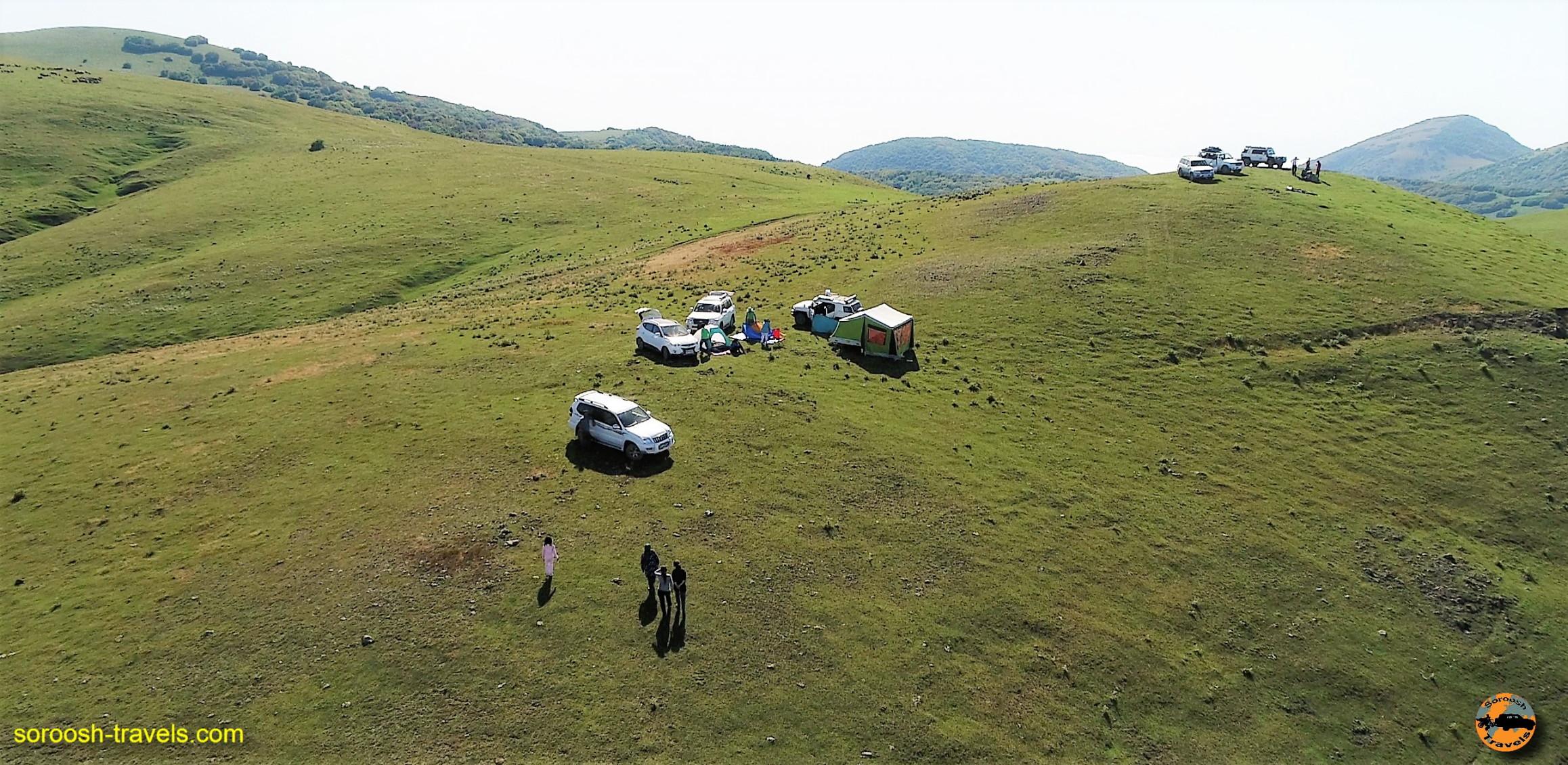 تصاویر هوایی از ارتفاعات سوها - تابستان ۱۳۹۶