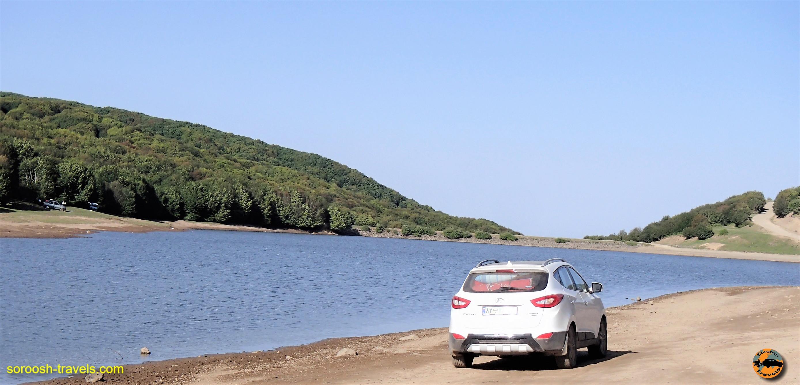 اقامت در حاشیه دریاچه سوها - تابستان ۱۳۹۶
