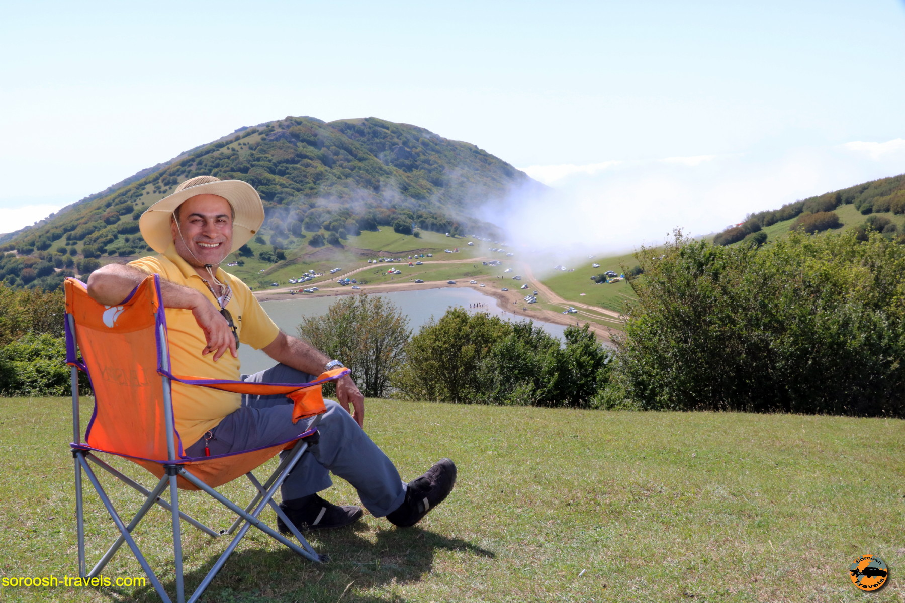 سفر به دریاچه سوها – تابستان ۱۳۹۶