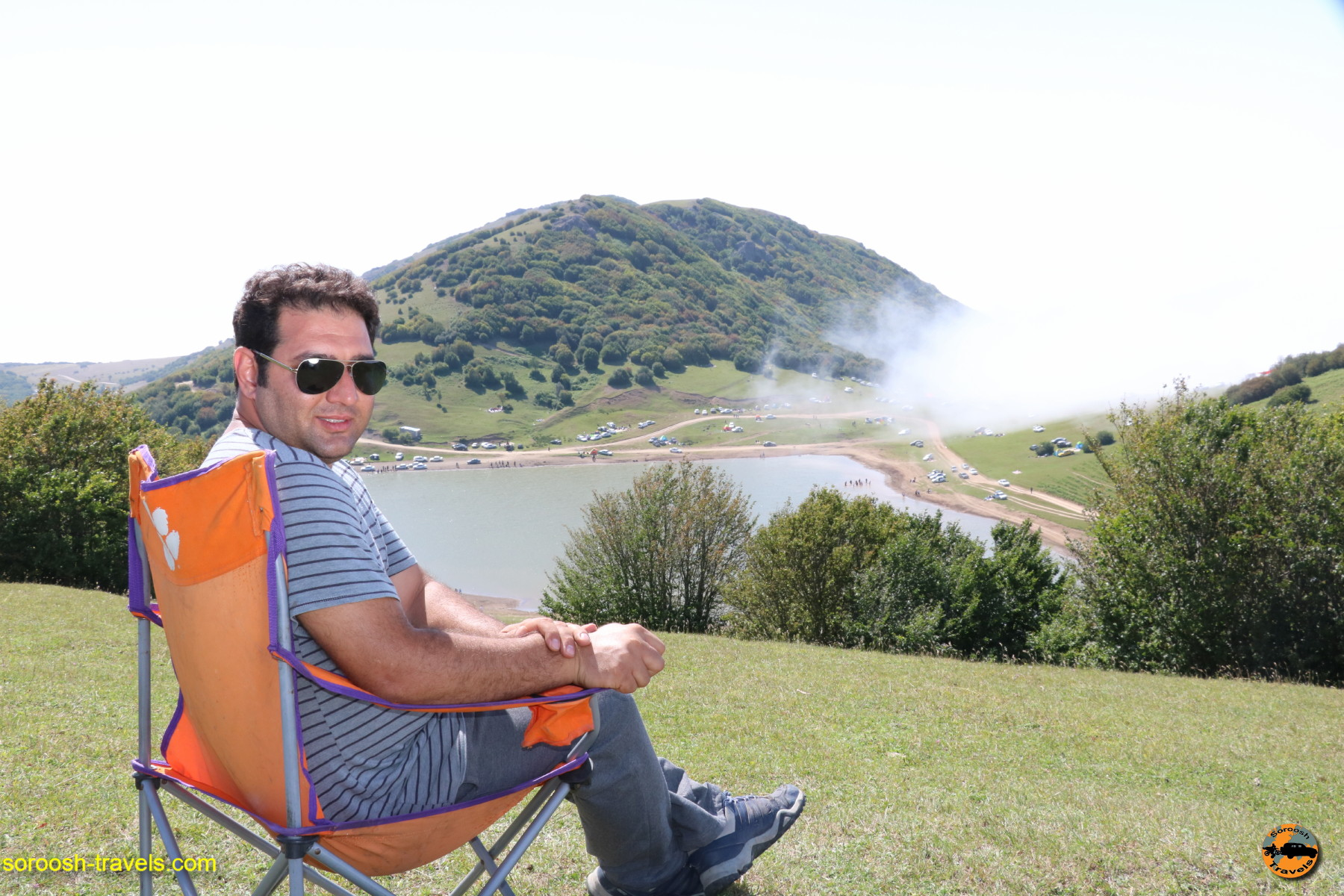 مناظر اطراف دریاچه سوها - تابستان ۱۳۹۶