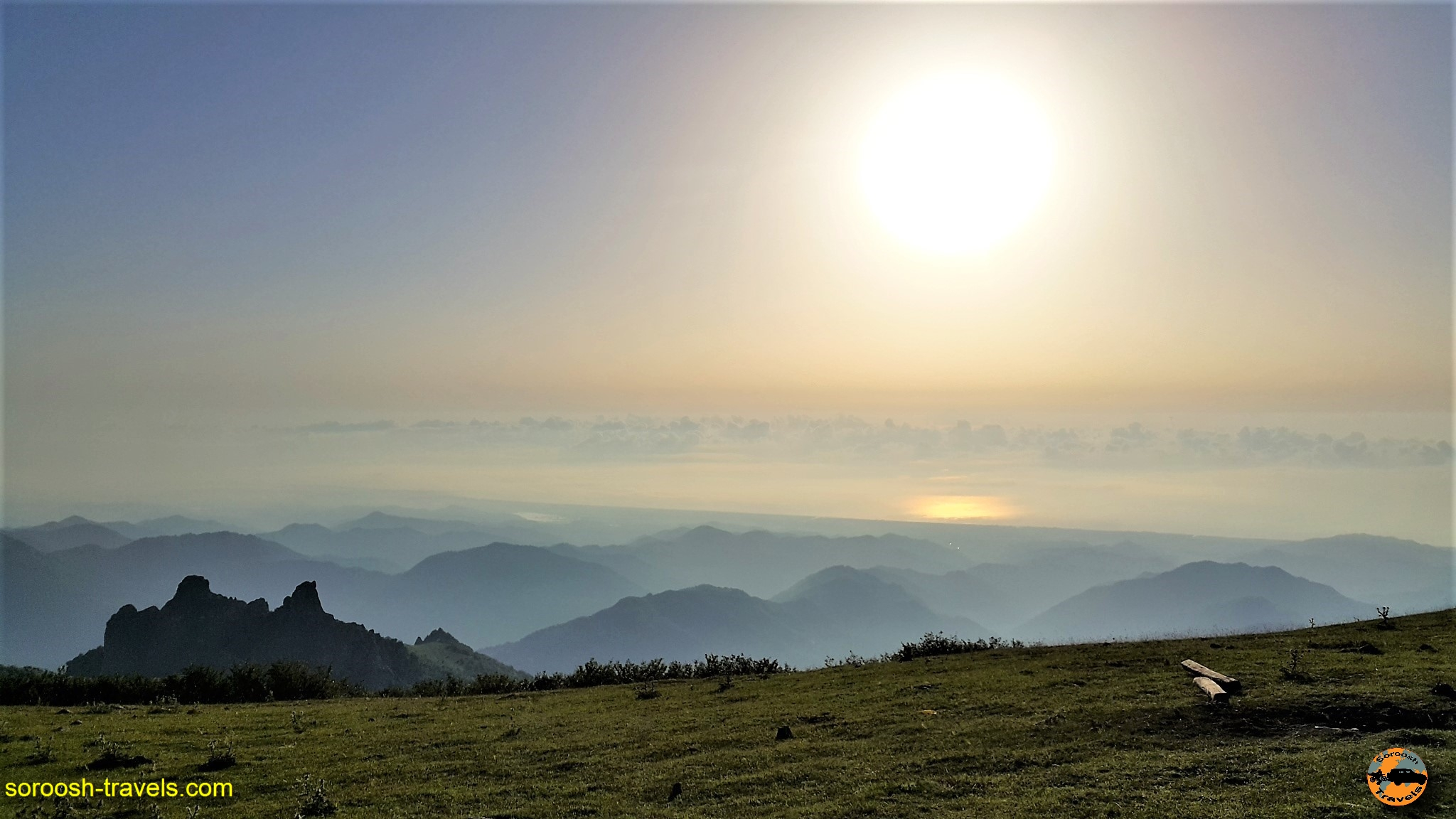 چادر زدن بر فراز ابرها - تابستان ۱۳۹۶