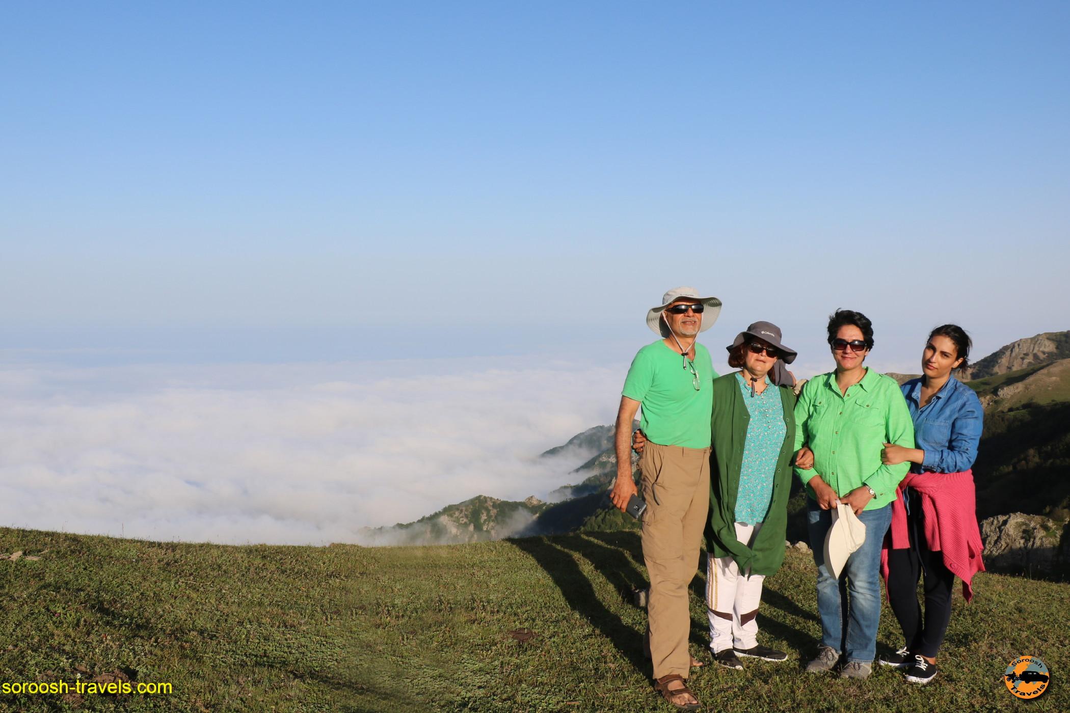آرامش بر فراز ابرها ، ارتفاعات سوها - تابستان ۱۳۹۶