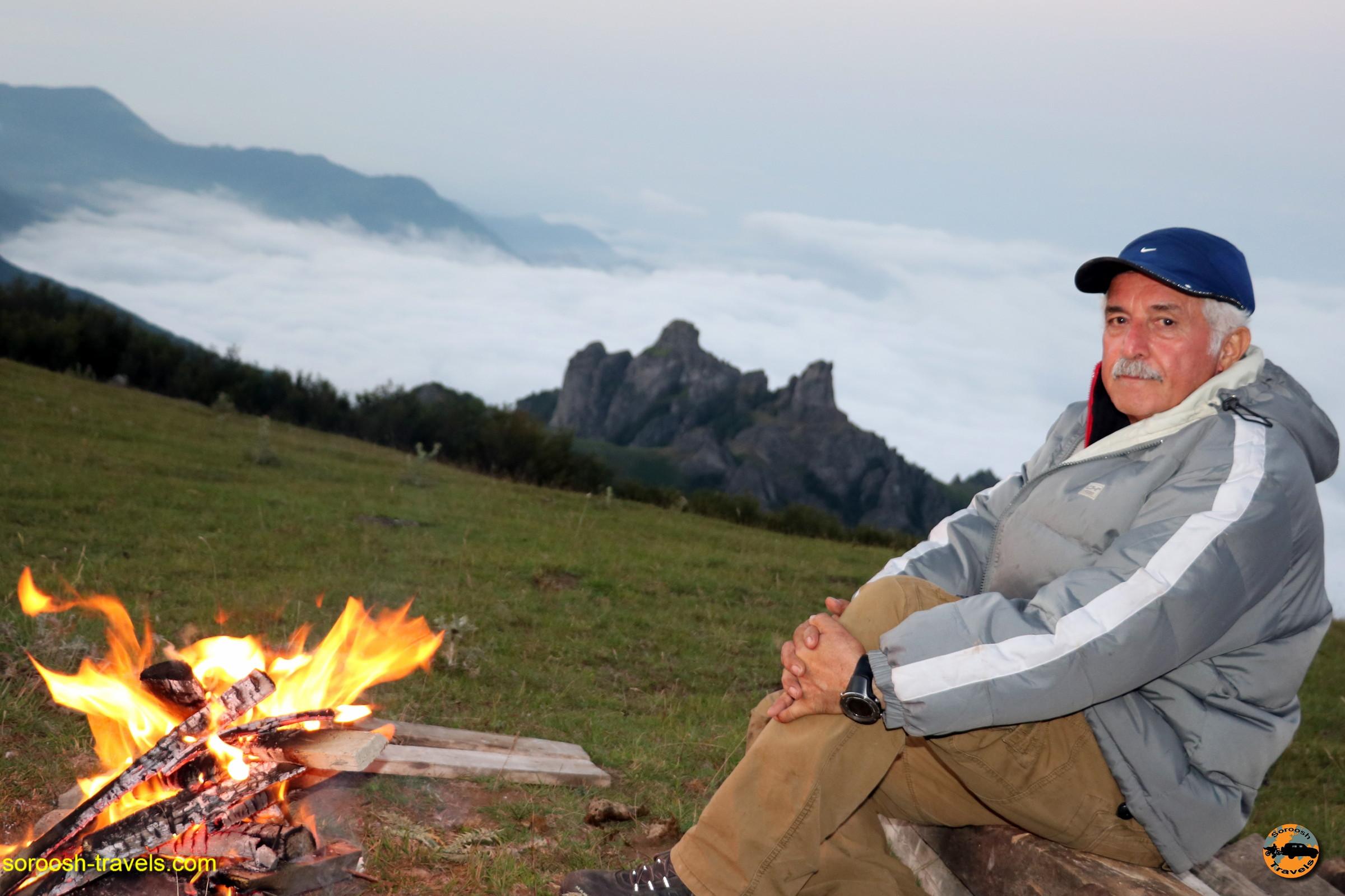 آتش بر فراز ابر ، ارتفاعات سوها - تابستان ۱۳۹۶