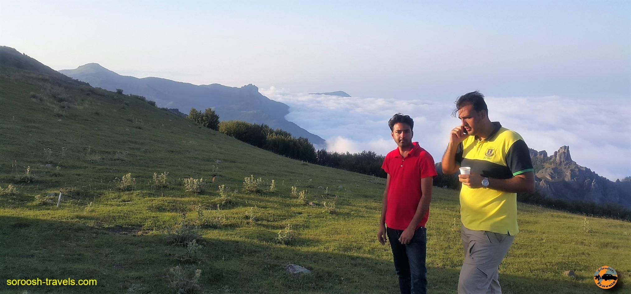 ارتفاعات دریاچه سوها - تابستان ۱۳۹۶