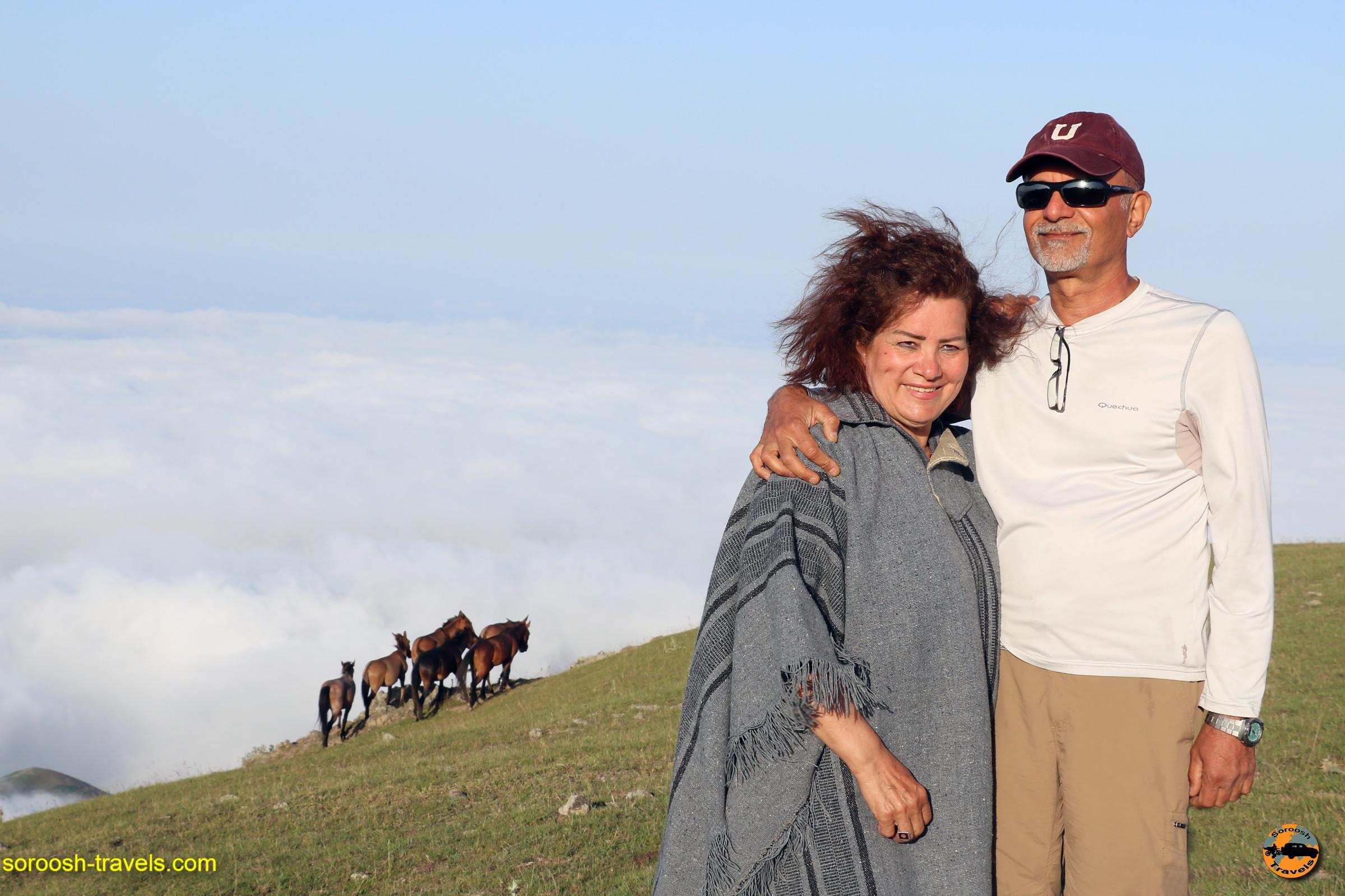 بر فراز ابرها در ارتفاعات سوها - تابستان ۱۳۹۶
