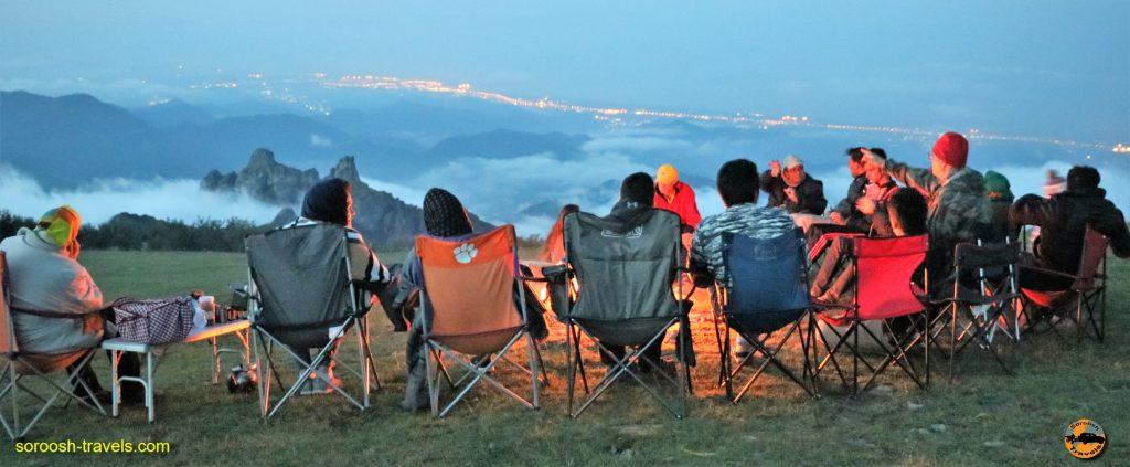 بر فراز ابرها در ارتفاعات سوها – تابستان ۱۳۹۶