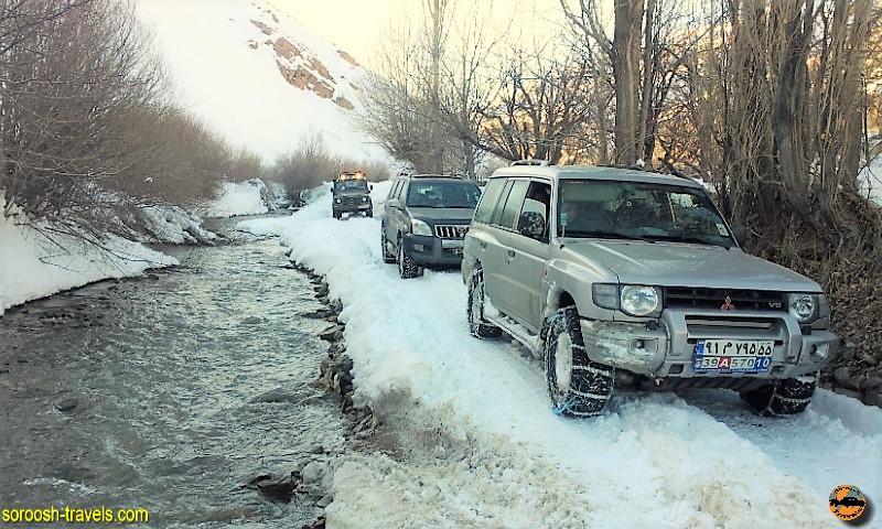 بسمت دریاچه هویر – زمستان ۱۳۹۱