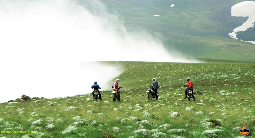 Motorbike tours in Iran -Damavand mountain